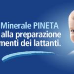 Acqua PINETA lt. 0,75 x 12 bott. Vetro a rendere
