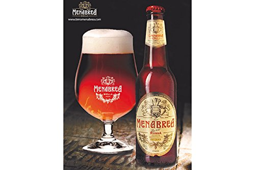 Birra Rossa doppio malto Menabrea, 24 bottiglie da cl.33, alc. 7,5% vol.
