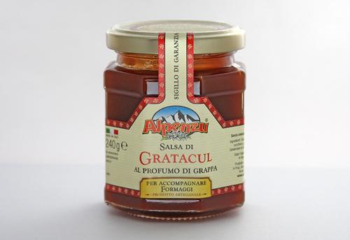 SALSA DI GRATACUL 240g AL PROFUMO DI GRAPPA