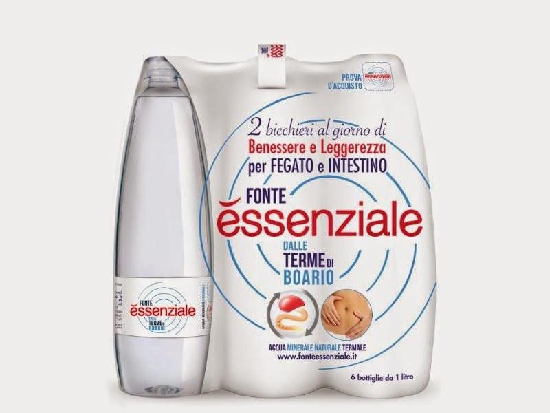 Acqua Boario Essenziale lt.1 Bottiglie in PET