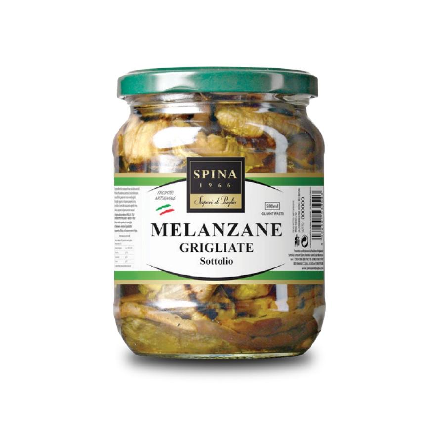 MELANZANE GRIGLIATE 580ml